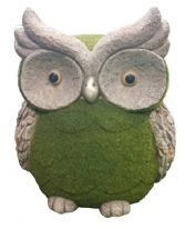 Kent Collection Flocked Owl - M